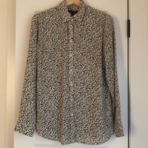 Banana Republic Dillion Classic-fit print shirt